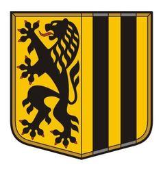 Dresden Coat of Arms vector image vector image