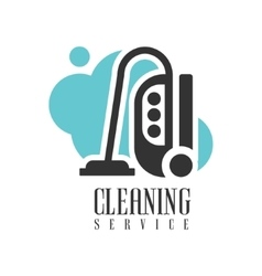 House And Office Cleaning Service Hire Logo vector image