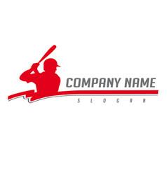 Baseball logo 2 vector