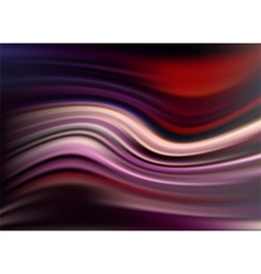 Abstract modern wavy flowing satin background vector image