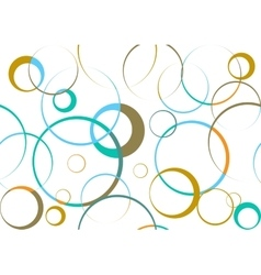 Circular abstract pattern vector