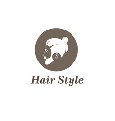 hair style design vector image