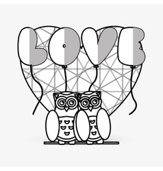 Love design romantic icon Colorful vector