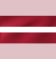 national flag latvia for vector image