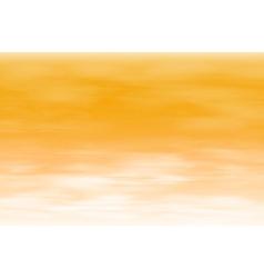Orange sky background vector image