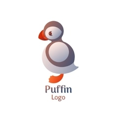 Puffin logo vector