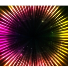 Purple shining cosmic lights abstract background vector image