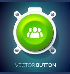 user interface web design concept vector image