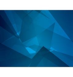 Abstract dark blue background with broken lines vector image