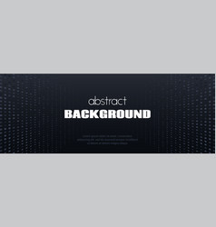 Black minimal long abstract background vector