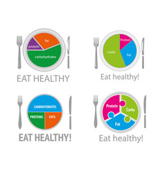 Eat healthy5 vector