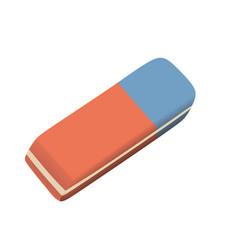 Eraser realistic vector