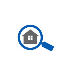 Find real estate logo icon design vector