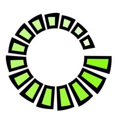 Loading icon cartoon vector