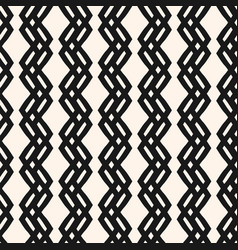 modern geometric seamless pattern with zig zag vector image
