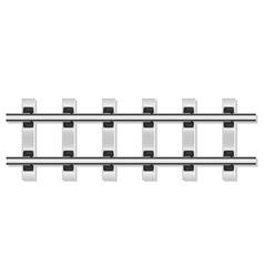 Railway rails 02 vector