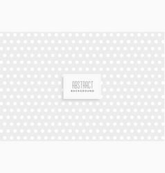subtle polka dots pattern design vector image
