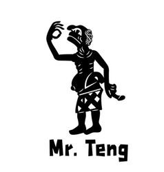 Thai ancient joker vector
