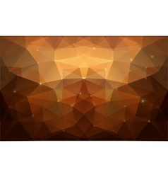 Triangular gold texture vector image
