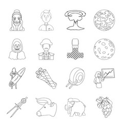 finance sport ritual and other web icon in vector image vector image