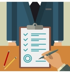 Business agreement concept vector image vector image