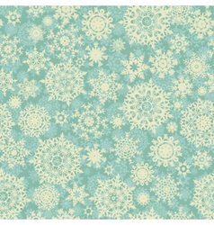 christmas snowflake background pattern vector image vector image