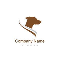 jack russel dog logo vector image