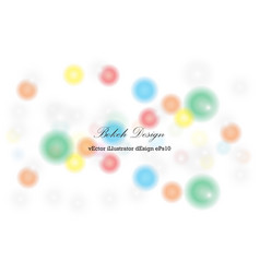 Abstract background circle light bokeh for vector