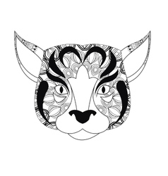 dog icon Animal and Ornamental predator design vector image