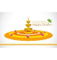 Happy Onam vector image