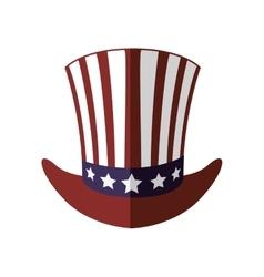 Hat icon USA design graphic vector