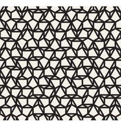 Seamless black and white irregular vector