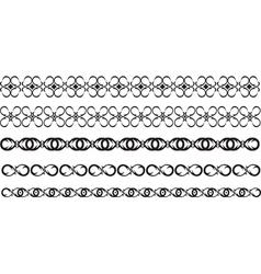 black border vector image vector image