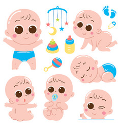 Baby character vector