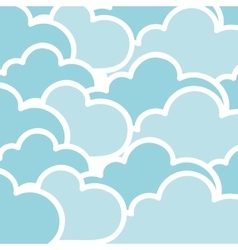 Cloudy background icon image vector