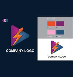 Create company logo design free download vector