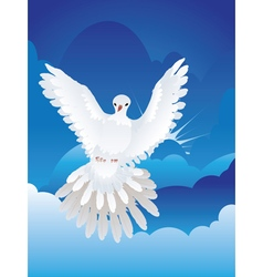 Dove in the Sky4 vector