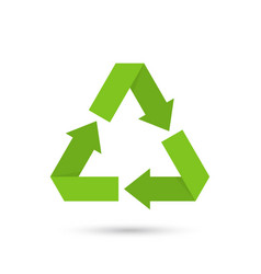 eco recycled symbol vector image