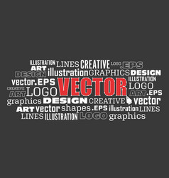 logo drawing pen tool concept vector image