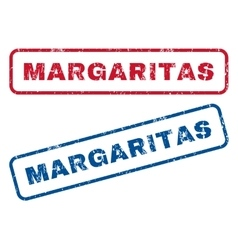 Margaritas Rubber Stamps vector