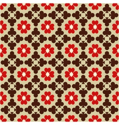 seamless abstract pattern with card suits vector image vector image