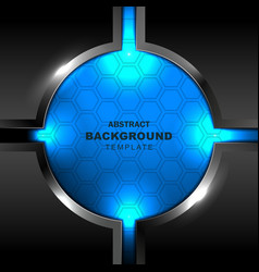 circle design background vector image vector image