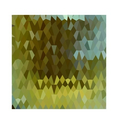 Moss Green Abstract Low Polygon Background vector