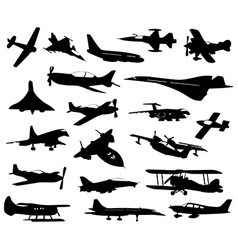 Airplanes 11 vector image