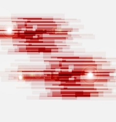 Red abstract straight lines background vector image vector image
