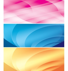 bright abstract backgrounds vector image