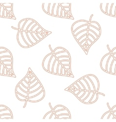 Seamless floral pattern Stylish repeating texture vector image vector image