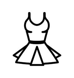 women underwear icon vector image vector image