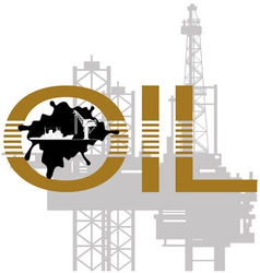 Extraction of mineral resources 1 vector image
