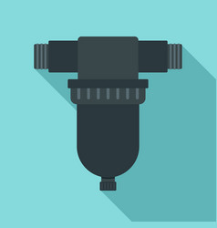 Irrigation tool icon flat style vector